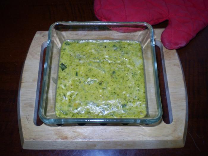 Tortini di broccoli dietetici.