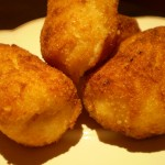 Spanish typical tapas: Croquetas!