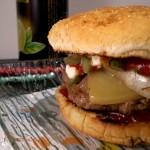 American style hamburgers! o hamburger col formaggio.