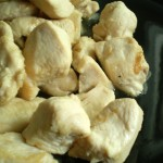 Pollo agli aromi. Ricetta veloce e leggera.