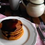 Pancake di zucca. La colazione dei campioni.