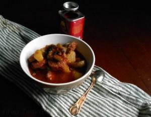 zuppa salsiccia funghi