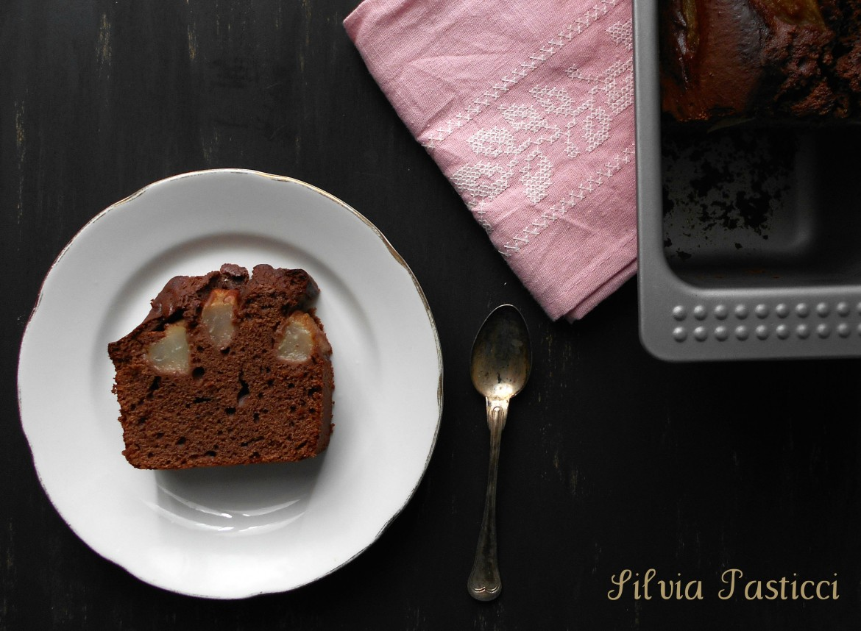 plumcake ricotta pere cioccolato