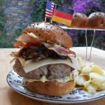 American-German bretzel burger per mtchallenge.