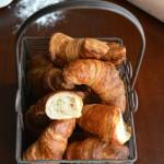 Croissant sfogliati con crema e croccante di castagne per MTChallenge