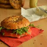 Bagels al salmone per Re-Cake 2.0