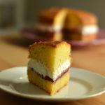 La mia Victoria Sponge Cake per il Club del 27.