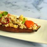 Melanzane ripiene di pomodorini e bulgur per fruit24